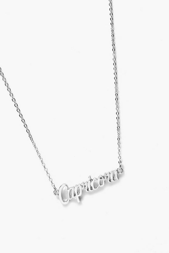 Cristina Capricorn Star Sign Necklace