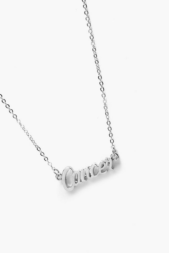 Charlotte Cancer Star Sign Necklace
