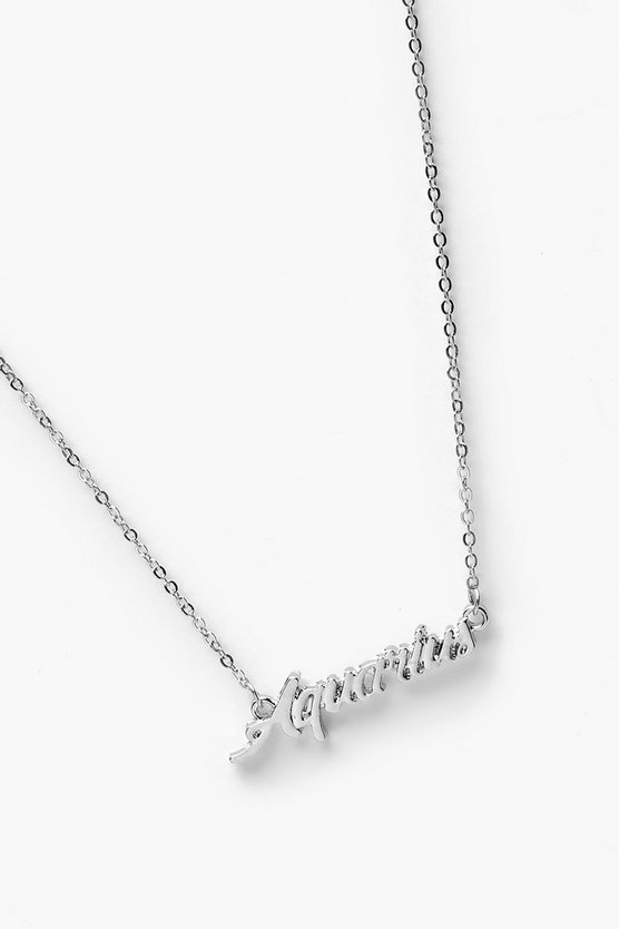 Ava Aquarius Star Sign Necklace