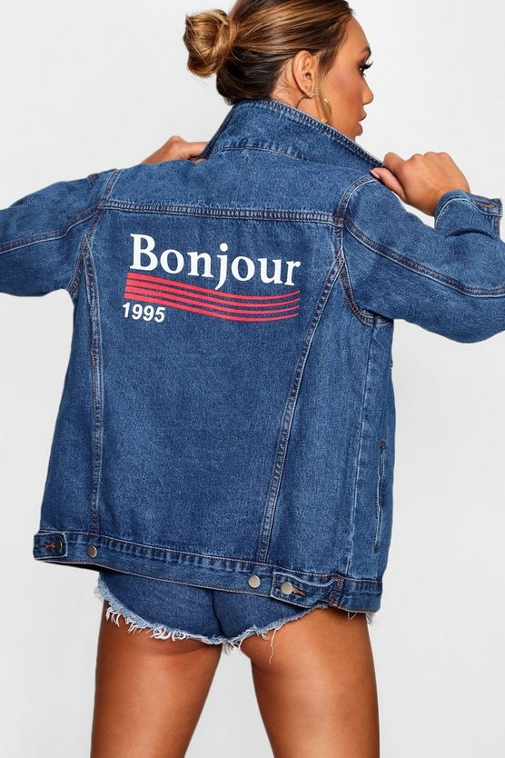 Madison Bonjour Denim Jacket