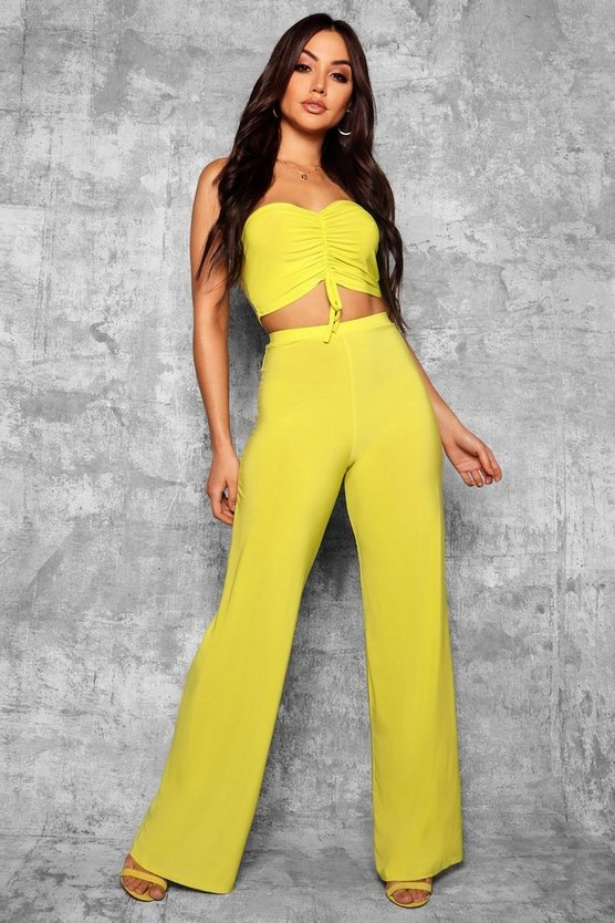 Millie Slinky Wide Leg Trousers