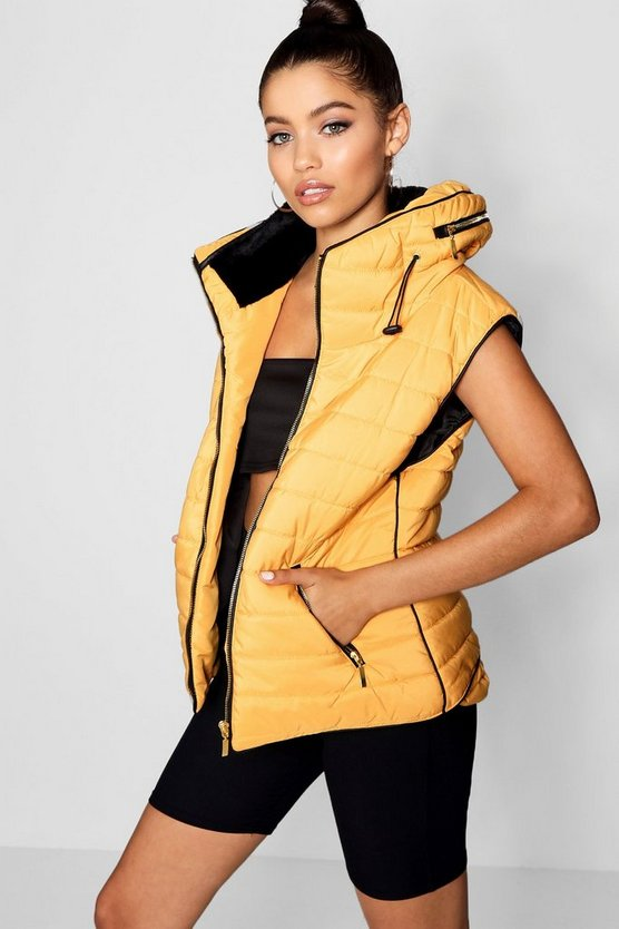 Faye Quilted Gilet