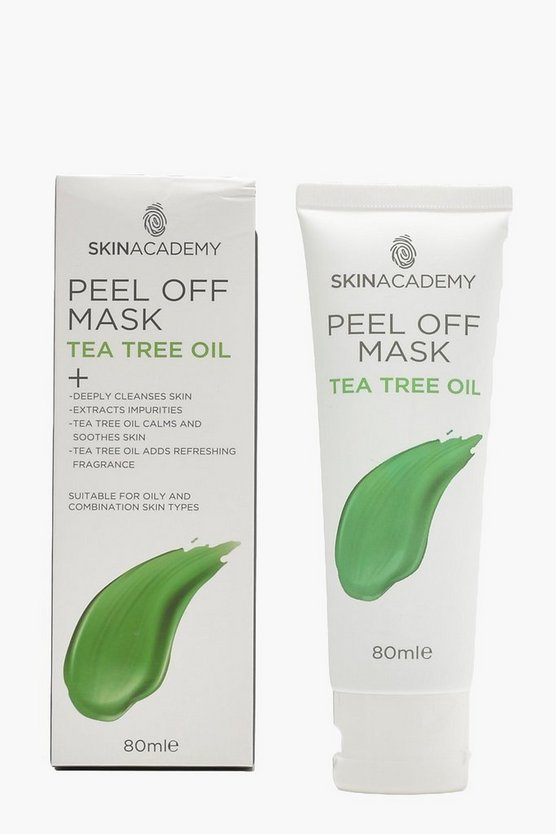 Skin Academy Peel Off Tea Tree Mask