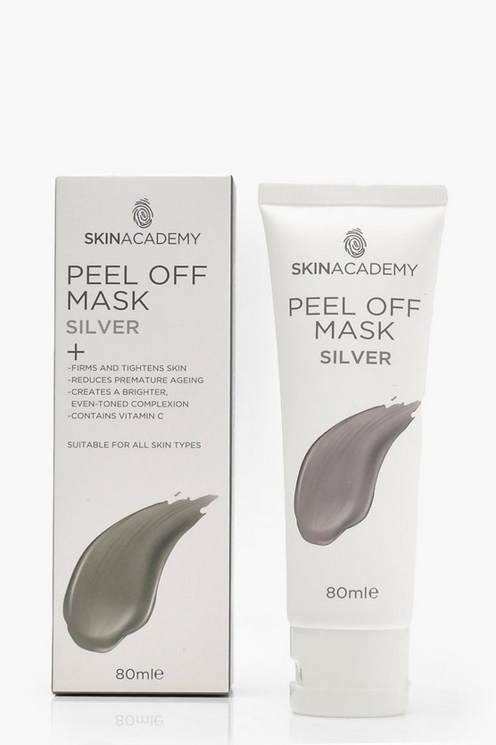Skin Academy Peel Off Silver Mask