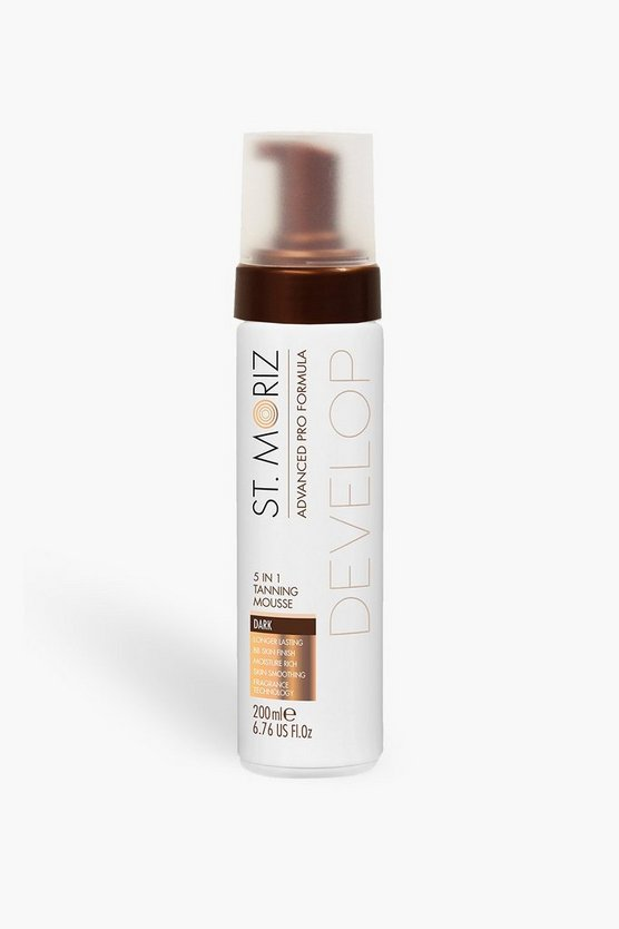 St Moriz Pro 5 in 1 Tan Mousse-Dark
