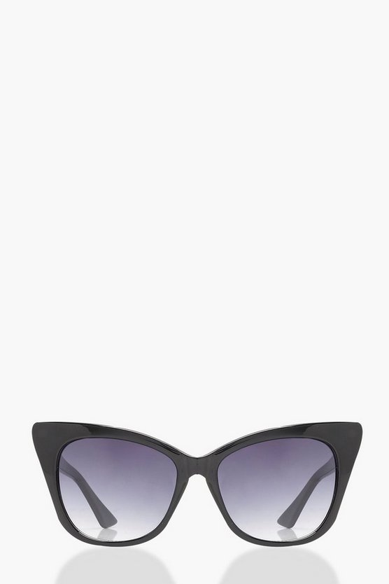 Ava Extreme Oversized Cat Eye Sunglasses