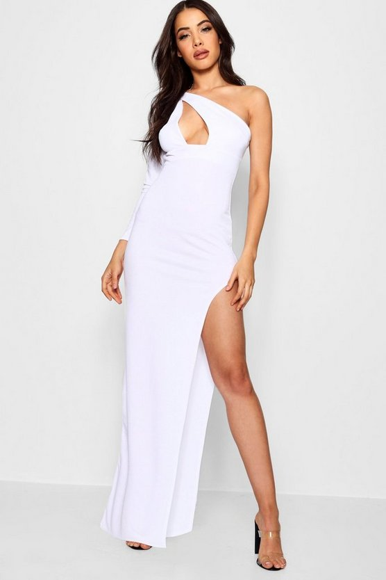 Emily One Shoulder Cut Out Maxi Dress