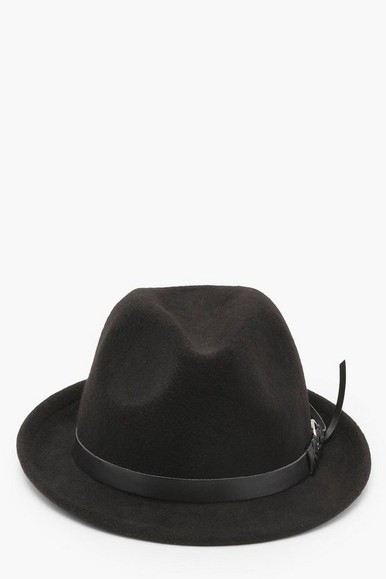 Buckle Trim Trilby