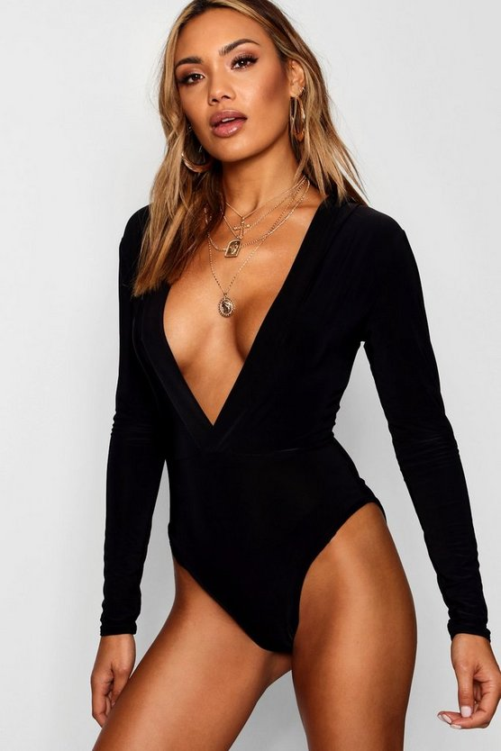 Slinky Hooded Bodysuit