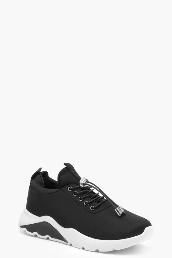 Masie Toggle Trim Chunky Trainers