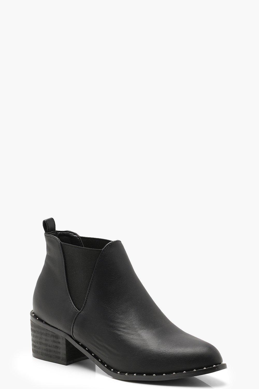Купить Boots, Ботинки челси Rand с заклепками, boohoo