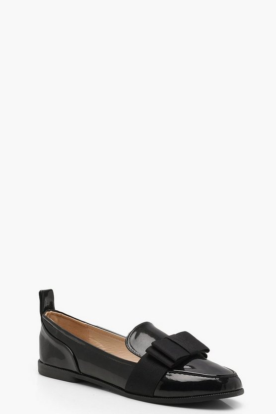 Mia Bow Detail Loafers