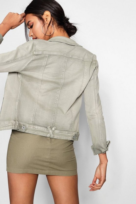 Cotton Twill Jacket by Boohoo