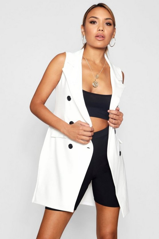 Collared Pocket Duster Jacket