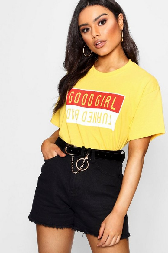 Maddie Bad Girl Printed T-Shirt