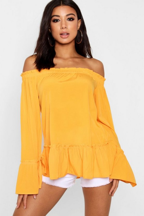 Lily Woven Off The Shoulder Top