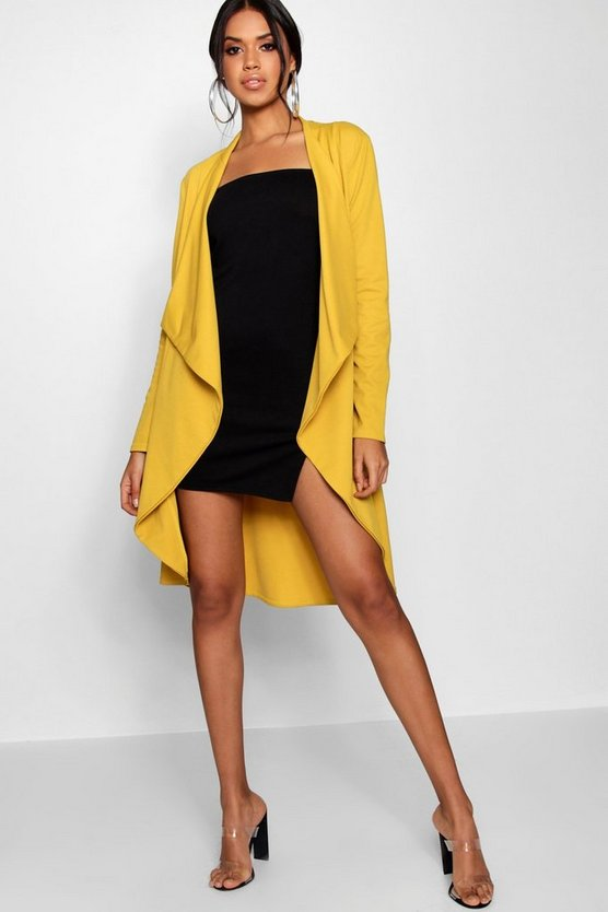 Faye Waterfall Long Sleeve Duster