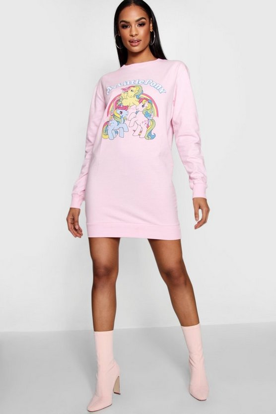 Sweatshirt-Kleid mit My Little Pony
