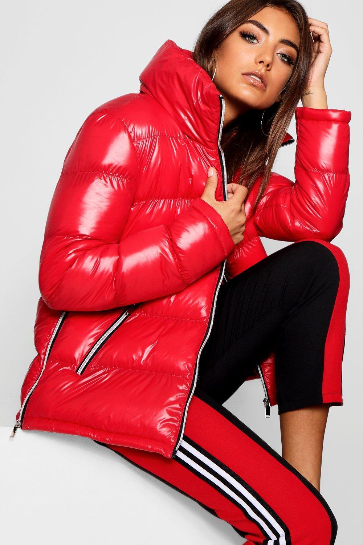 Купить Coats & Jackets, Блестящая куртка с мягкой подкладкой, boohoo