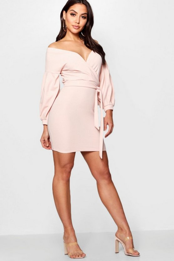Danni Off the Shoulder Bodycon Dress