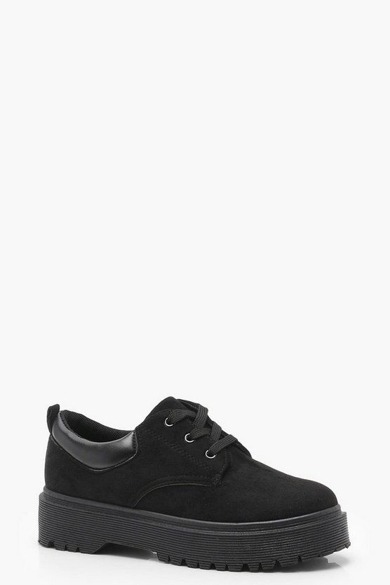 Cleated Lace Up Brogues