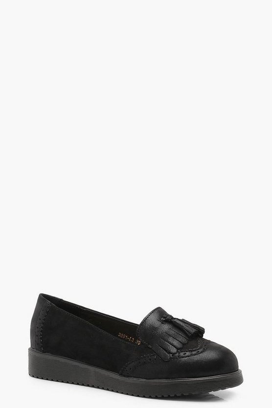 Bethany Tassel Cleated Loafers