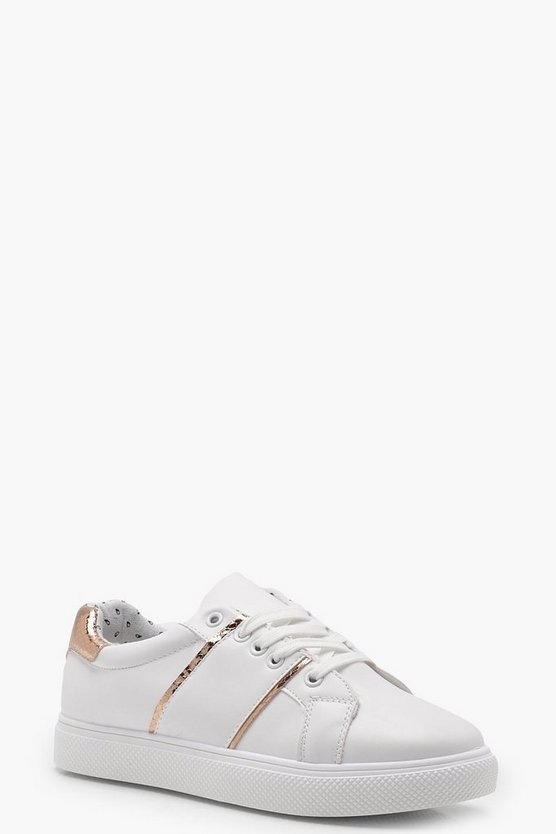 Freya Stripe Side Trainers