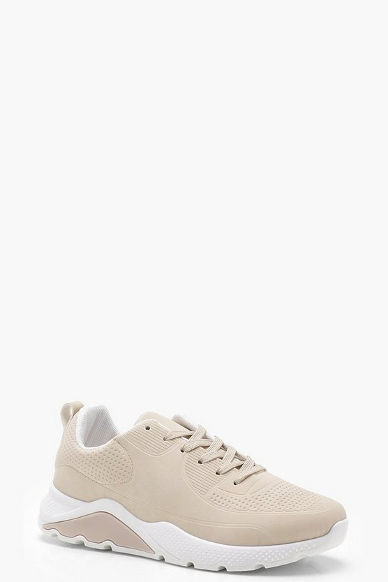 Emily Lace Up Chunky Sports Trainers