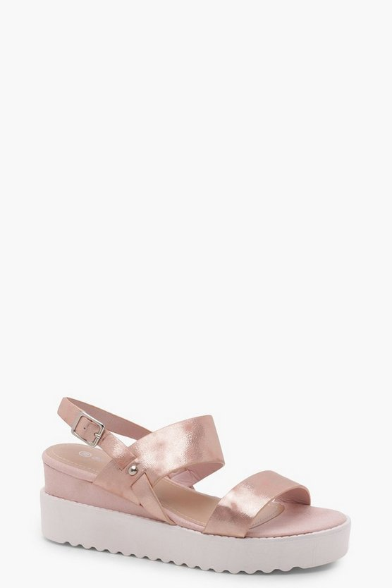 Alice Cleated Flatform Sandals