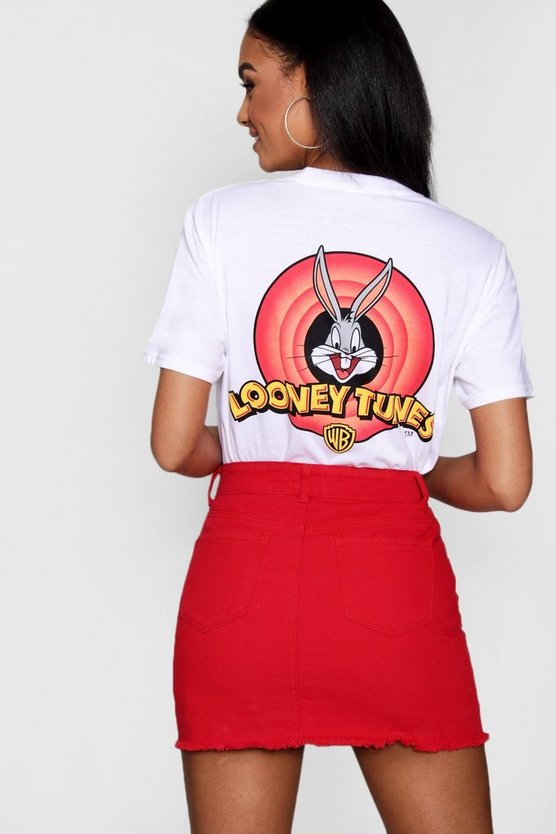 Jasmin Looney Tunes Pocket Tee
