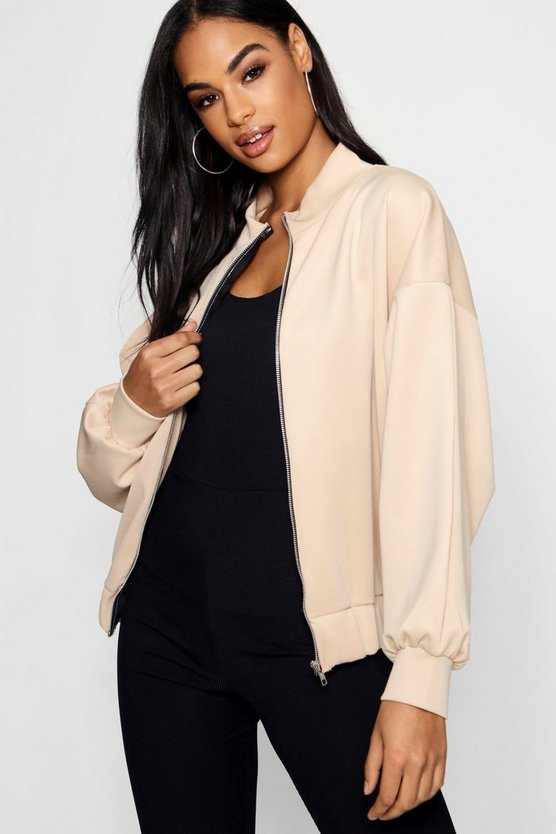Harriet Batwing Bomber Jacket