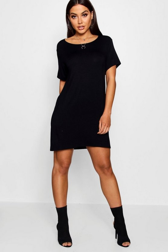 Montana Round Neck T-shirt Dress