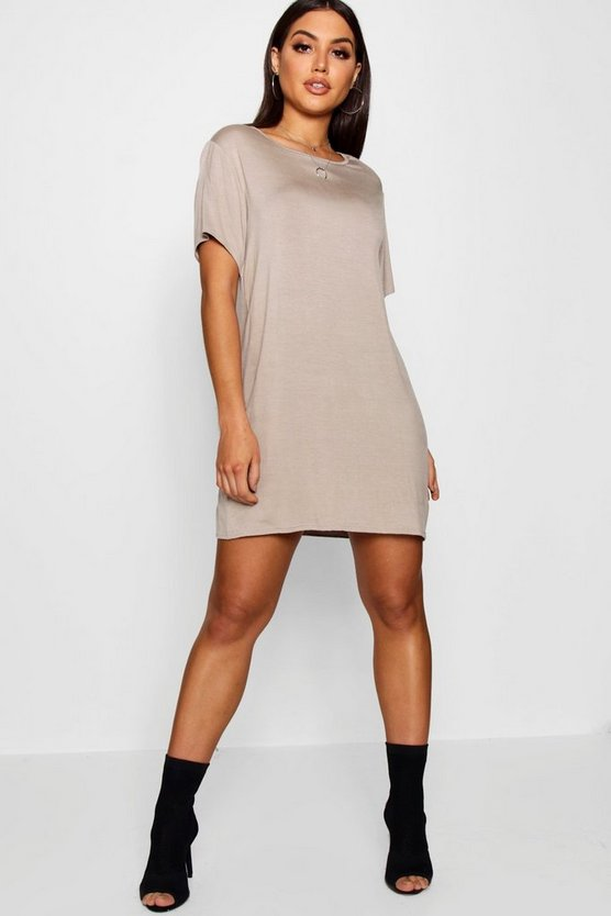 Montana Round Neck Tshirt Dress
