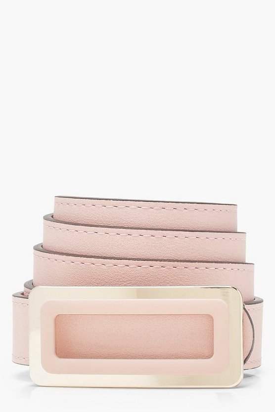 Sarah Slide Buckle Boyfriend Belt