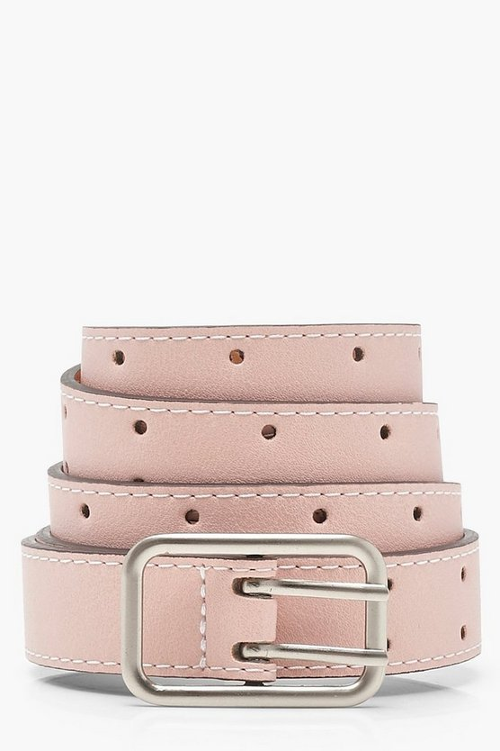 Pin Buckle Boyfriend Belt