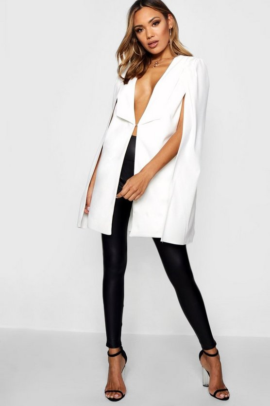 Tailored Longline Cape