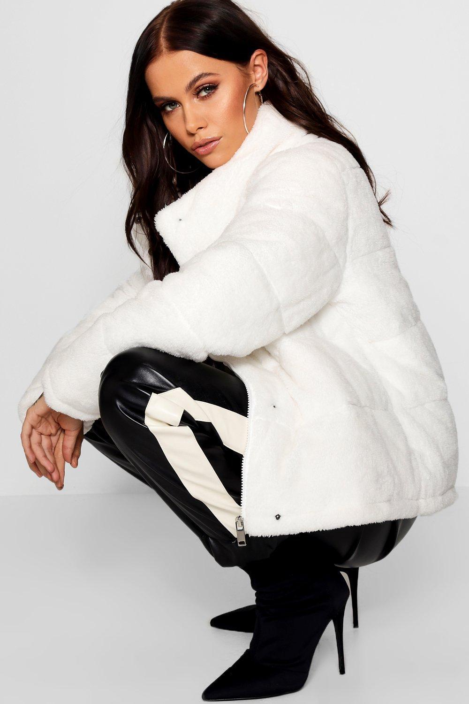 Купить Coats & Jackets, Жакет Teddy с мягкой подкладкой из искусственного меха, boohoo