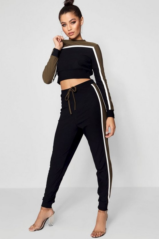 Contrast Sports Set