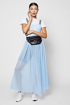 Zendaya Edit Sports Tape Corset Maxi Dress
