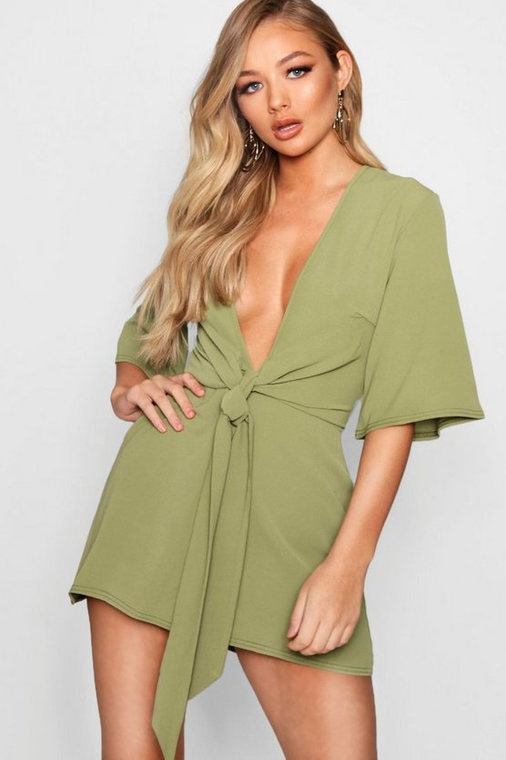 Theresa Tie Front Playsuit