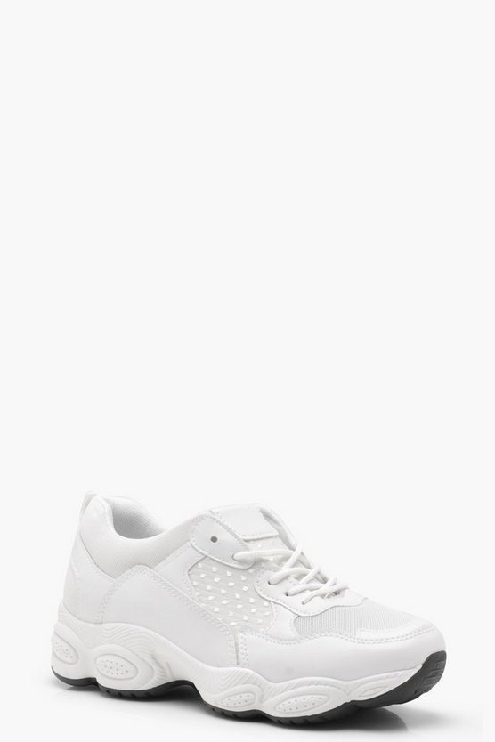 Rose Chunky Sole Trainer