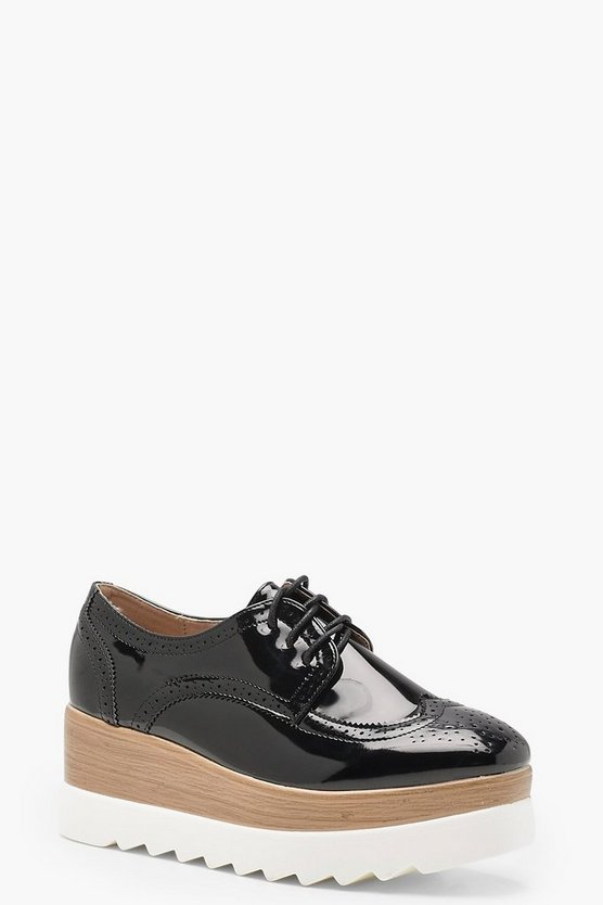 Mia Cleated Lace Up Brogues