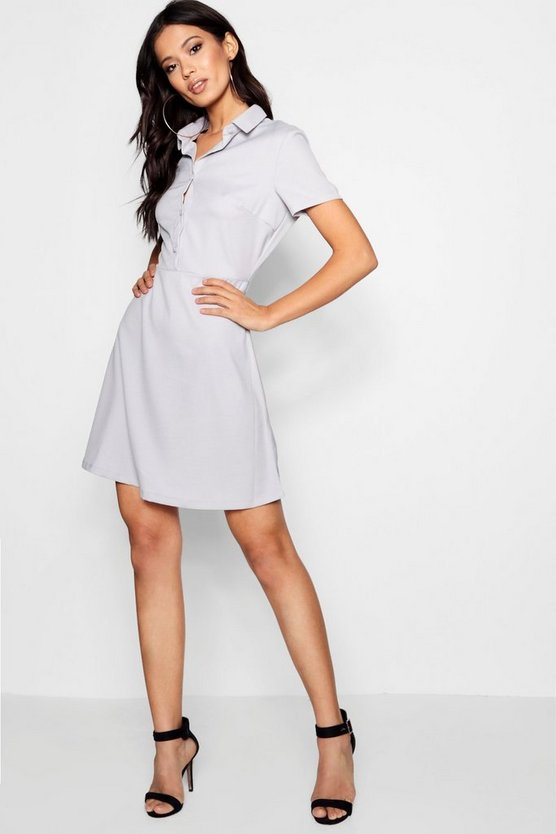 Holly Button Down Shirt Dress