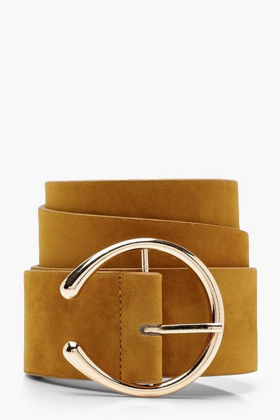 Sophia Split O Ring Chunky Boyfriend Belt