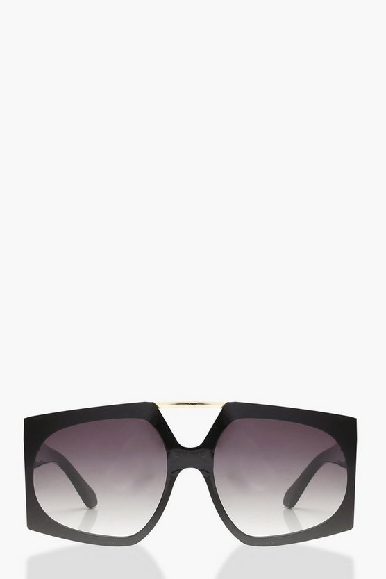 Olivia Oversized Brow Bar Sunglasses