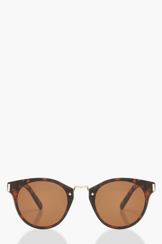 Laura Tortoiseshell Retro Sunglasses