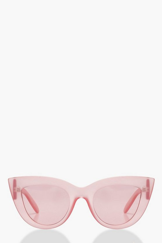 Lucy Pink Cat Eye Sunglasses