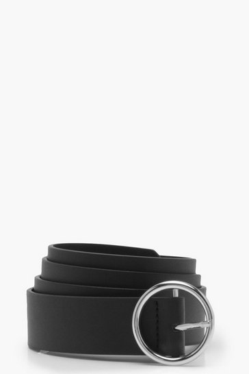 Silver Circle Ring Belt