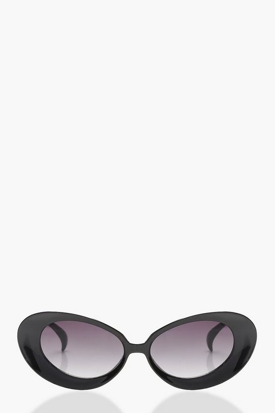 Megan Oval Cat Eye Sunglasses