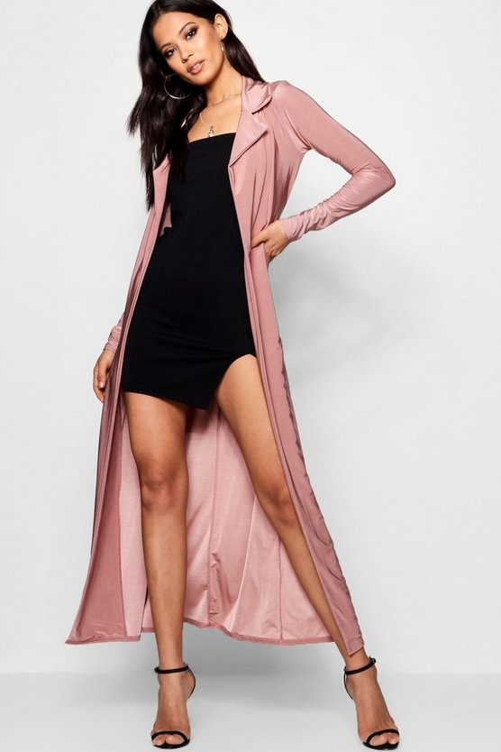 Mollie Slinky Belted Duster